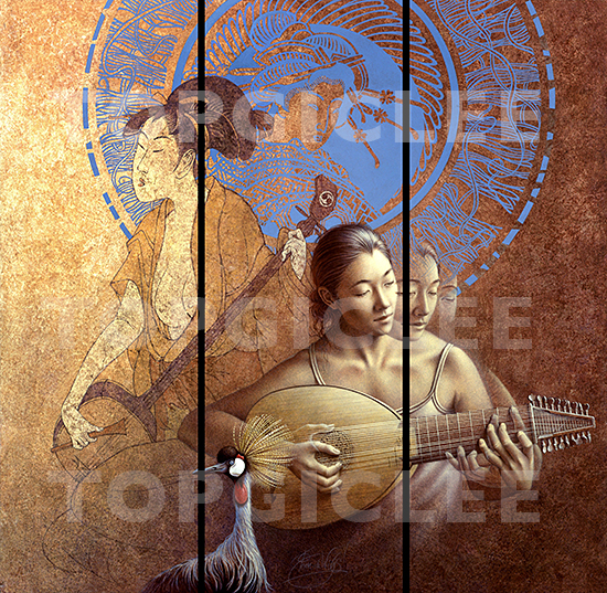 Poen de Wijs, New Geisha, Folding Screen